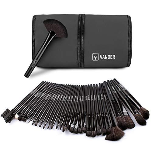Makeup Brushes Set 32Pcs(Black)