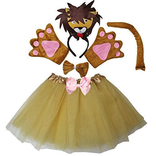 Kirei Sui Kids Costume Tutu Lion -