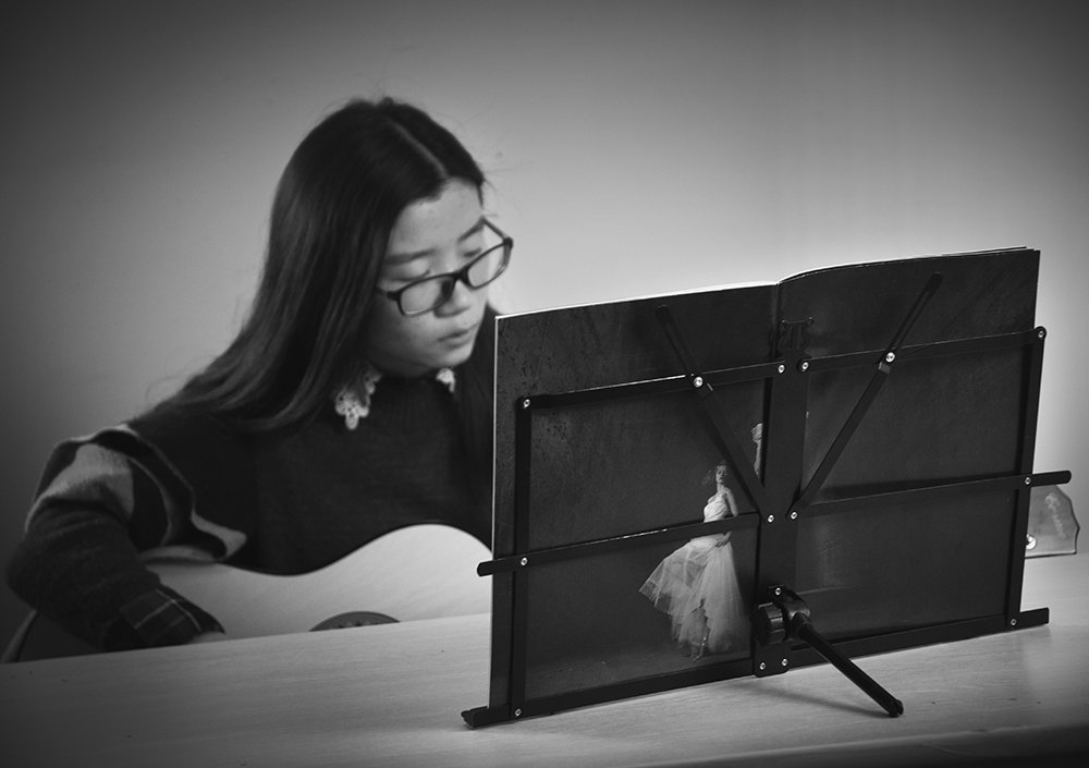 Lightwish - Black Metal Sheet Portable Adjustable Music Stand Music Holder Folding Foldable by Lightwish (Image #6)