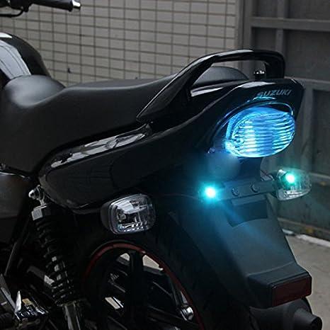 /étanche pour feux de position Lot de 2 lampes de feux diurnes de moto /à LED Eagle Eye ampoule /à vis