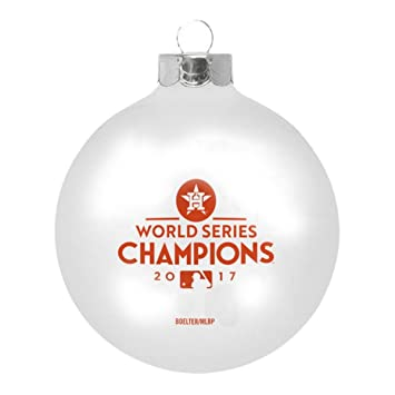 forever houston astros 2017 world series champions christmas holiday glass ball ornament forever collectibles