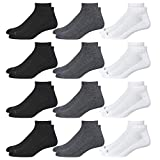 Save 15% on Nautica Mens 12 PK Moisture Control Athletic Quarter Socks