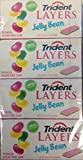 Trident Layers -Jelly Bean Limited Edition Pack of 12 - (14 piece pkgs. )