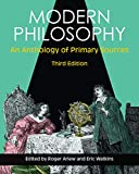 img - for Modern Philosophy: An Anthology of Primary Sources book / textbook / text book