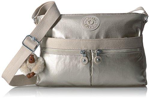 (Kipling Women's Angie Solid Crossbody Bag)