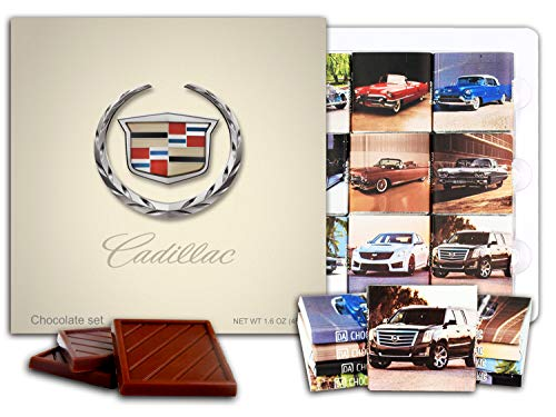 DA CHOCOLATE Candy Souvenir CADILLAC Chocolate Gift Set 5x5in 1 box (Logo)