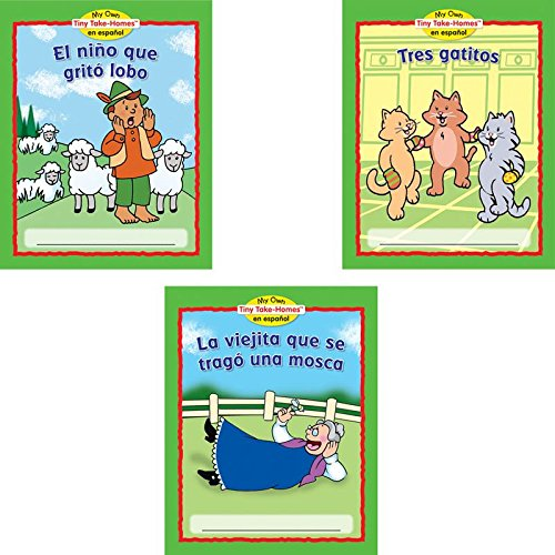 My Own Tiny Take-Homes En Espanol: Folktales (Cuentos Populares) - Set 2
