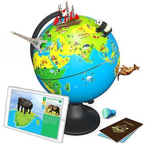 Shifu Orboot (App Based): The Educational, Augmented Reality Based Globe | STEM Toy for Boys & Girls Age 4 to 10 Years | Learning Toy Gift for Kids (No Borders and No Names on Globe) by Shifu (Image #1)