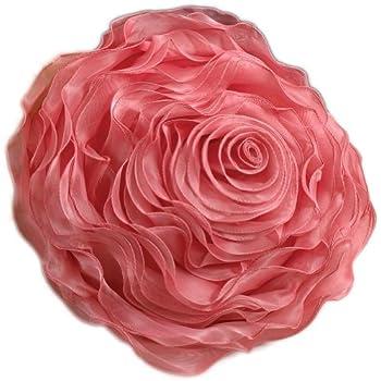 Amazon Com Eva S Flower Garden Decorative Throw Pillow