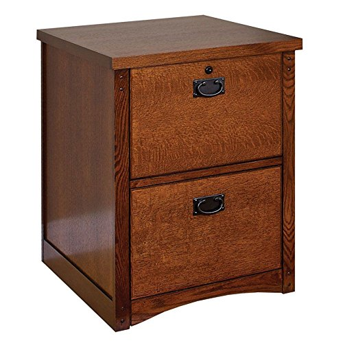 Mission Pasadena Two Drawer Vertical File Mission Oak Finish Dimensions: 21.25