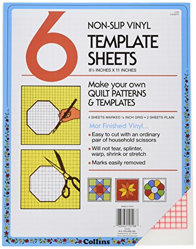 quilters plastic template - 9