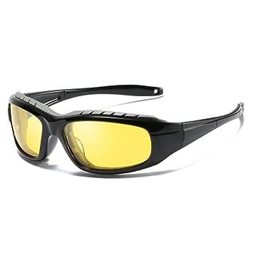 Gafas De Sol Polarizadas, Gafas De Montar A Prueba De Viento, Gafas De Sol para Deportes Y ConduccióN,NightVision: Amazon.es: Deportes y aire libre