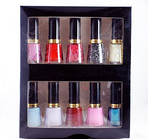 Revlon Nail Polish Set -10 Most Wanted Colours For Every Occasion ...