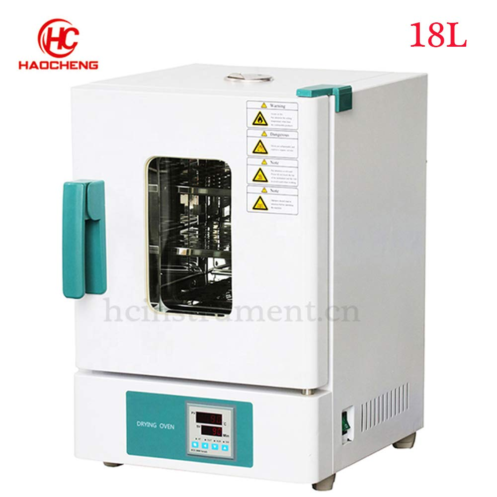 Laboratory 220V Desktop Digital Display Intelligent Constant Temperature Laboratory Drying Oven 18 L by haocheng
