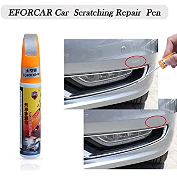 EFORCAR(R 1PCS Car Scratching Repair Touch Up Paint Pen (Silver)