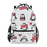 penguin pack - Cute Penguins Set Fantasy Backpack School Bag Travel Daypack