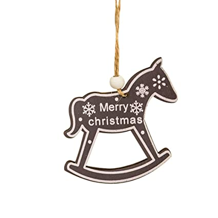 Christmas Horse Decorations.Amazon Com Midress Christmas Ornaments Christmas Small