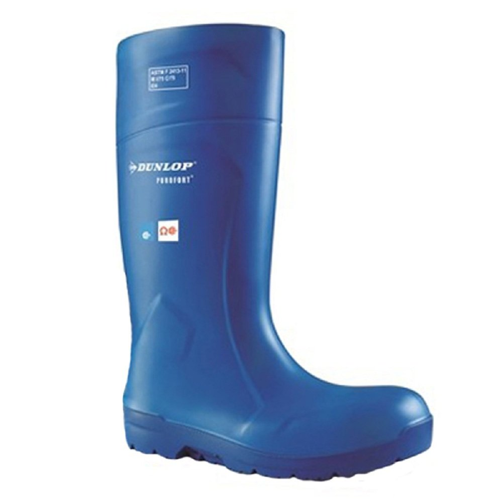 Dunlop FoodPro Purofort HydroGrip Safety Shoes in Blue EB51631 Size - 16
