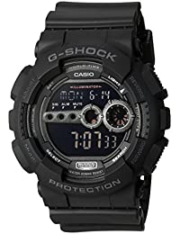 Men's GD100-1BCR G-Shock X-Large Black Multi-Functional Digital Sport Watch