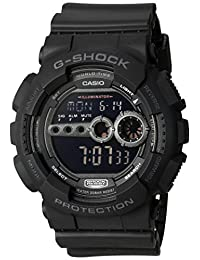 Casio GD-100B Casio Men's Classic for Hombre, Negro, Hombre Estándar