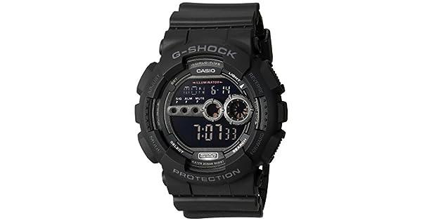 2d8d19237 Casio Men's GD100-1BCR G-Shock X-Large Black Multi-Functional Digital Sport  Watch: Amazon.ae