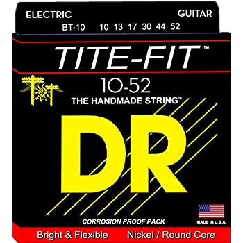 DR Strings Tite Fit Electric Round Core 10-52