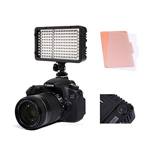 Selens¨ 168 LED Dimmable Ultra High Power Panel Digital Camera / Camcorder Video Light, LED Light for Canon, Nikon