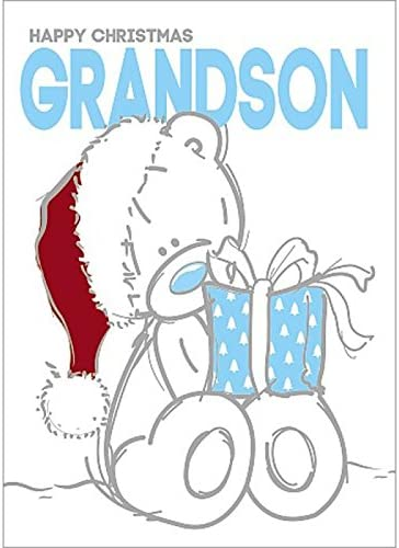 Me To You Bear Special  Great Grandson Christmas Card