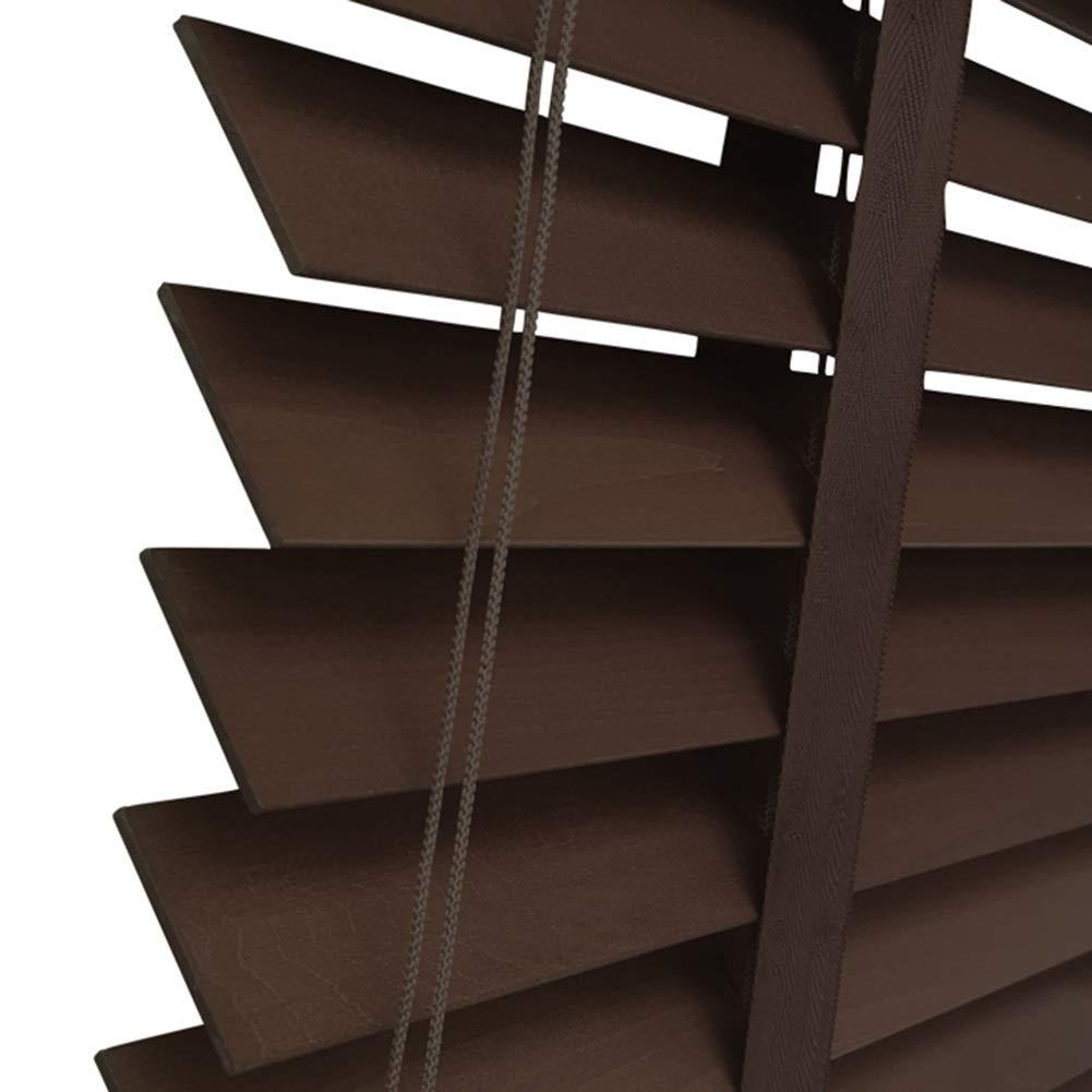 WUFENG Jalousien Massivholz Schatten Antiseptikum Wasserdicht Jalousie Schattierung Schlafzimmer, Mehrere Größen Kann Angepasst Werden Türvorhang (Farbe   C, größe   135x225cm)