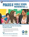 PRAXIS II Middle School Mathematics (5169) Book + Online, Reiss, Stephen, 0738611840