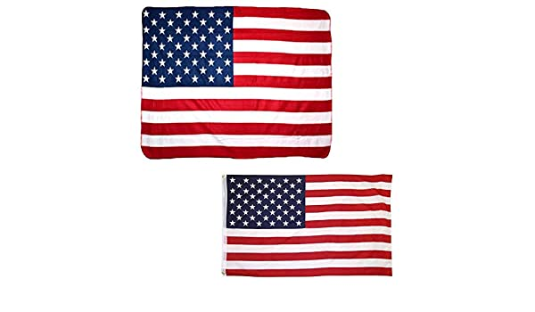 """Wholesale Combo Fire Dept Thin Red Line 50/""""x60/"""" Fleece /& 3/'x5/' Polyester Flag"""