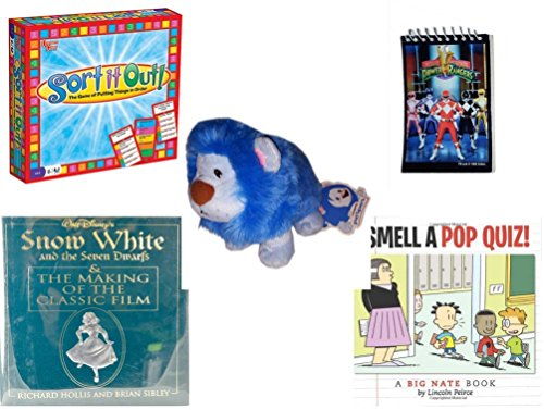 [Children's Fun & Educational Gift Bundle - Ages 6-12 [5 Piece] - Includes: Game - Toy - Plush - Hardcover Book - Paperback Book - No.] (Seven Dwarfs Costume Ideas)