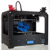 CTC 3d Printer, Dual Extruder + New Extruder + Dual Nozzle, 8.8'x5.7'x5.9'build Volume, with Abs or Pla Spool