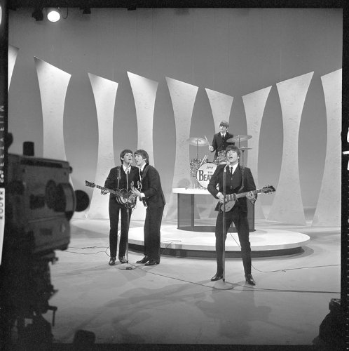 The Beatles Ed Sullivan 12 X 12