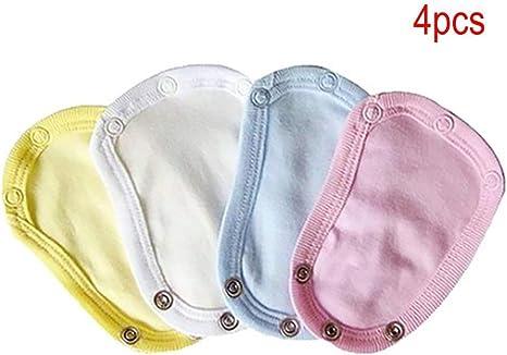 3Pcs 100/% Cotton Soft Baby Bodysuit//Vest Comfortable Newborn  Extenders Useful