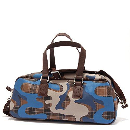 Marrone Ecopelle Donna Geox Staccabile Bag Woman Tracolla 1347t Borsa blu Camotartan xPaw1aEzqI