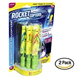RocketCopters- The Amazing Slingshot LEDHelicopters- As Seen on TV (2 Pack)