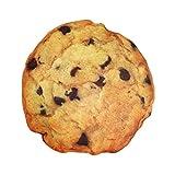 HollyHOME Food Throw Pillows Cookie For Chair Seat Cushion 16 x 16 inch Photoreal Print Microbead