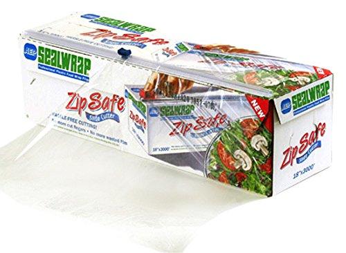 (SealWrap 30510600 Zipsafe Plastic Wrap, 12