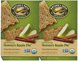 Nature\'s Path Un-Frosted Toaster Pastry - Apple Cinnamon - 11 oz - 6 ct - 2 pk