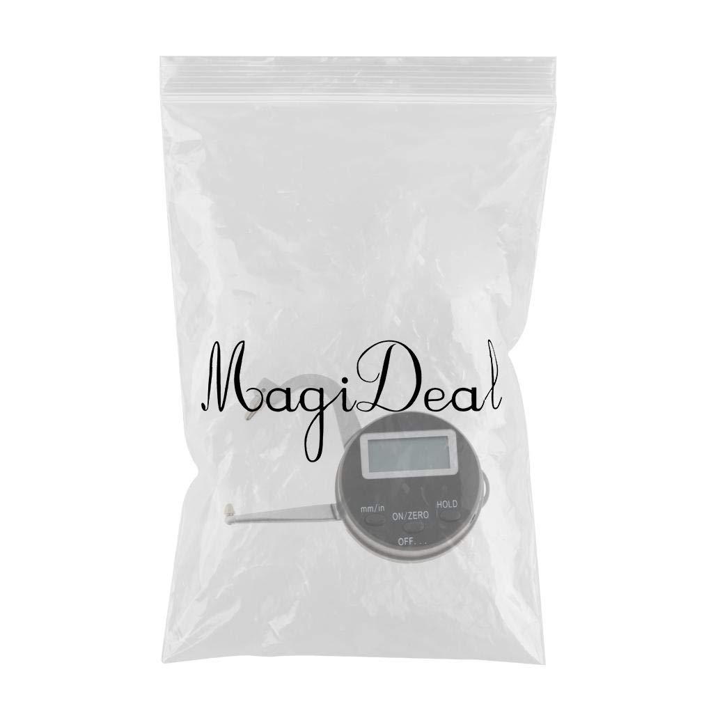 MagiDeal 0-25 mm// 1inch Mini Digital Jewel Gem Gemstone Thickness Gauge Caliper Tools