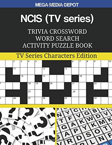 Amazon Ncis Tv Series Trivia Crossword Word Search Activity