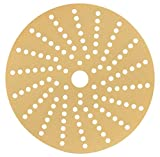 Sunmight 58614 1 Pack 6'' Multi Hole Velcro Disc (Gold Grit 320)