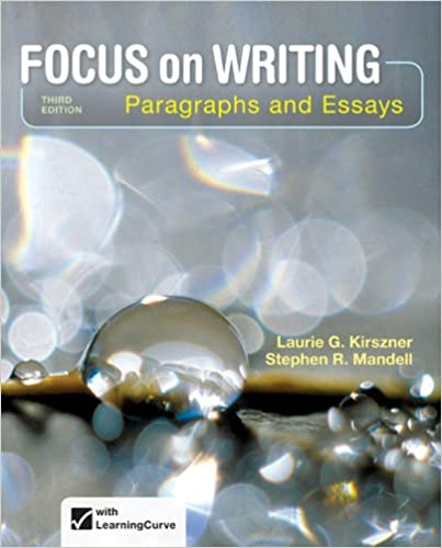 focus on writing paragraphs and essays