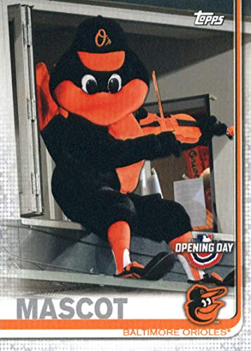 (2019 Topps Opening Day Mascots #M-24 The Oriole Bird Baltimore Orioles Baseball Card)