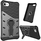 Chevron Back Cover Case for Lenovo Z2 Plus (Galaxy Black) [Sniper Series Version 3.0 With 360° Kick Stand Hybrid Back Cover Case]