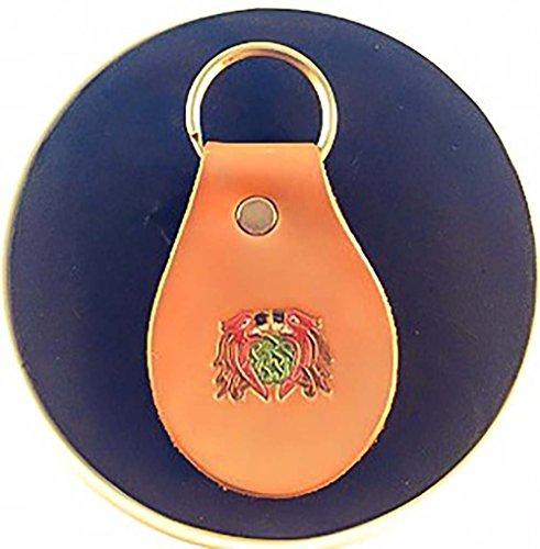 Hand Painted Celtic Beasts Genuine Leather Keychain (Hand Of Fate Steam compare prices)