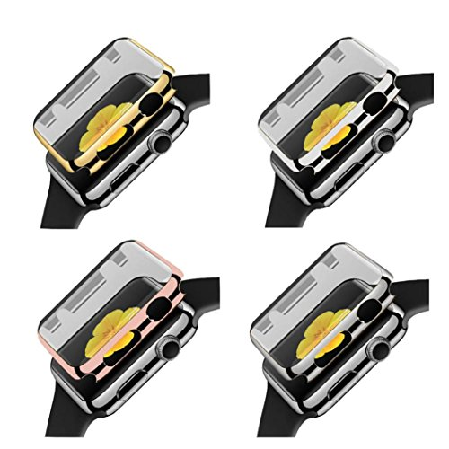 4pack-in1-for-apple-watch-series-1-38mm-case-gotd-4pack-slim-plated-pc-hard-case-cover-rose-goldblac