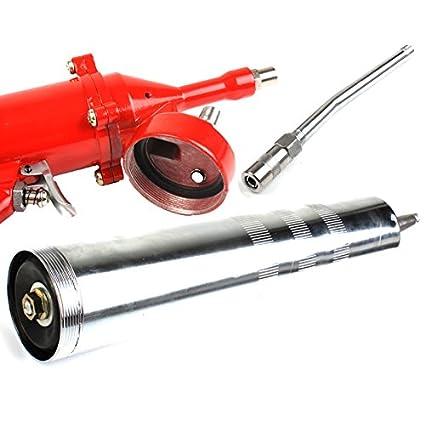 2 x Cartouche graisse universelle 400 g ECD Germany Pistolet /à graisse pneumatique 400 cm3 Pistolet /à huile