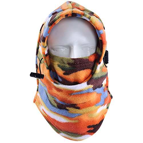 Your Choice Fleece Balaclava Winter Sports Outdoor Full Face Mask Size Adjustable - Outdoor Gear